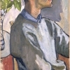 'Frank O'Hara' by Alice Neel