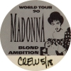 World Tour Backstage Pass from the 90s