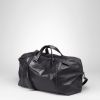 Nero Waxed Vitello Laque Duffel