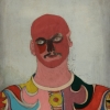 "John Graham, ""Self Portrait as Harlequin"""