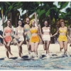 """""""Water Nymphs at a Tropical Beach in Florida,"""" 1930s."""