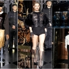 8. Naomi walking and Kate smoking in the 'Fetish' collection, inspired by Charlotte Rampling in 'The Night Porter'