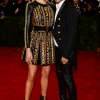 Rosie Huntington-Whiteley & Olivier Rousteing