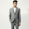 Grey Checked Skinny Suit