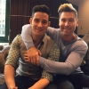Lance Bass, 36, and Michael Turchin, 28