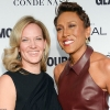 Amber Laign, 39, and Robin Roberts, 54
