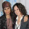 Sara Gilbert, 40 and Linda Perry, 50