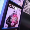 Out100 magazine on display