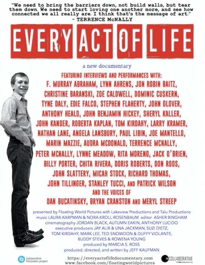 Every Act of Life Terrence McNally