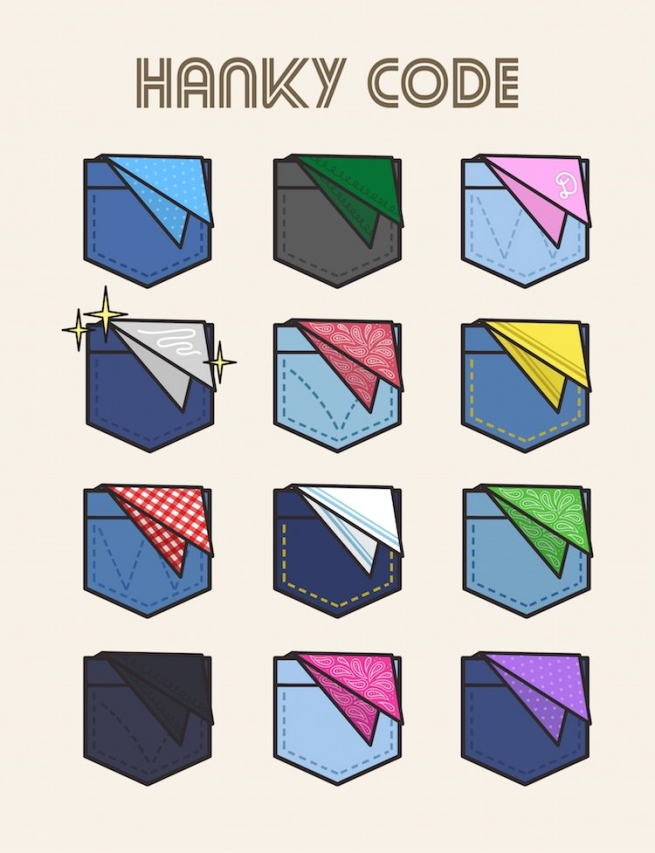 Untucking the Queer History of the Colorful Hanky Code with Hey Rooney