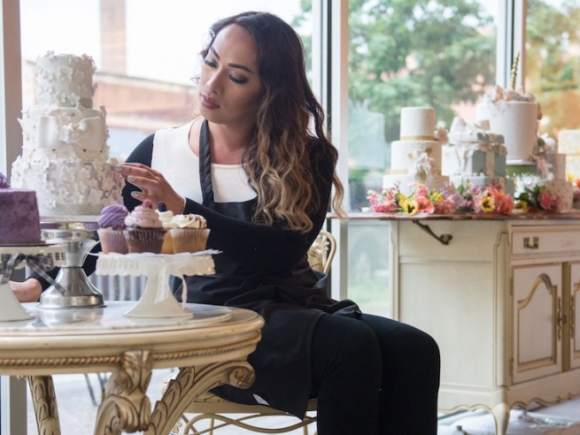 Jenne Vailoces has created an inclusive, delicious space at Boystown's Jennivee's Bakery.