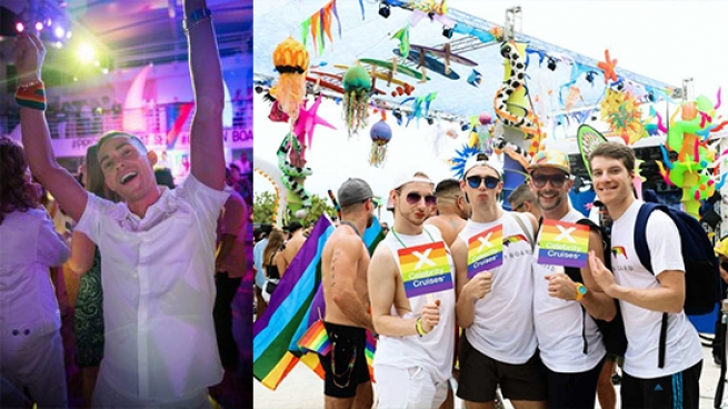 Seven Great Moments From Celebrity Cruises' Pride Celebrations
