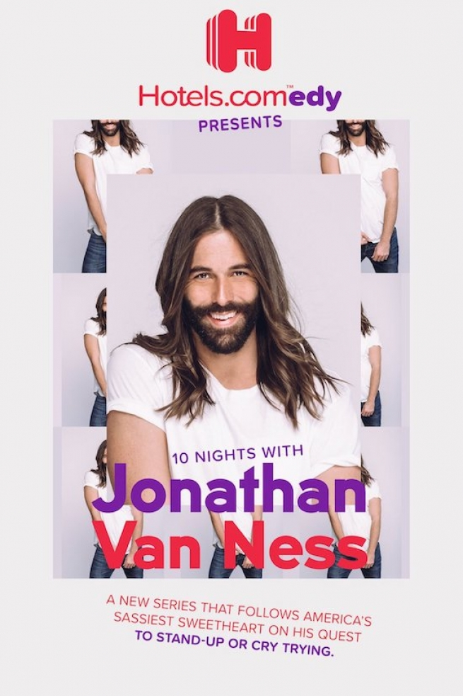 Jonathan Van Ness Takes On Stand-Up Comedy with Hotels.com