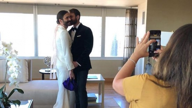 Jonathan Van Ness Brings His Rugby Player Boyfriend to the Emmys