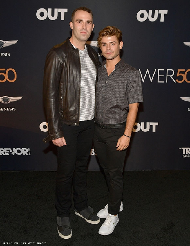 Blake Knight and Garrett Clayton