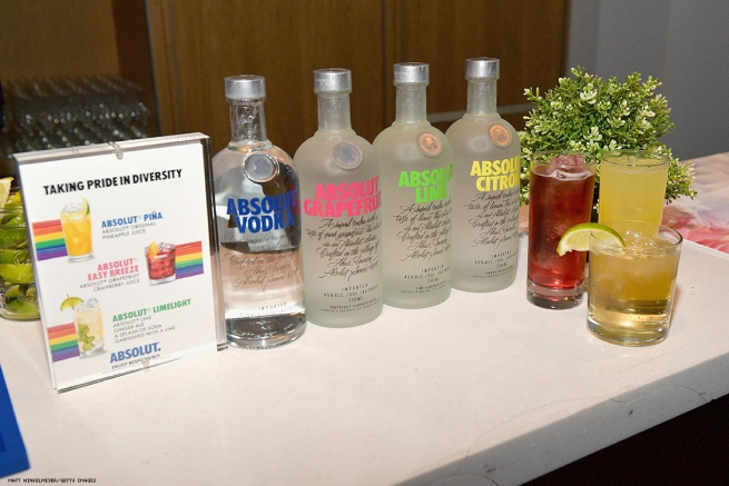 Absolut Vodka on display at OUT Magazine's Power 50 Award & Celebration Presented By Genesis at NeueHouse Los Angeles