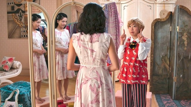 Awkwafina in 'Crazy Rich Asians'