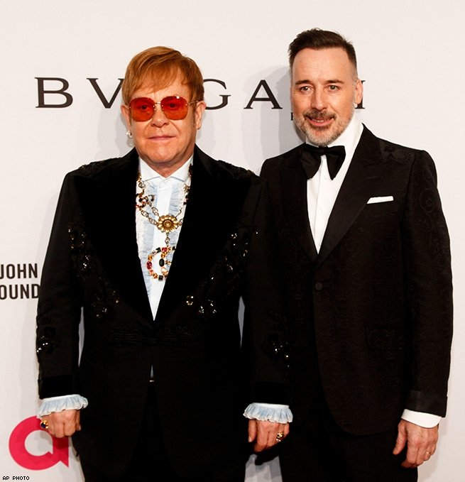 8. Elton John - AIDS Foundation's 17th Annual An Enduring Vision Benefit.