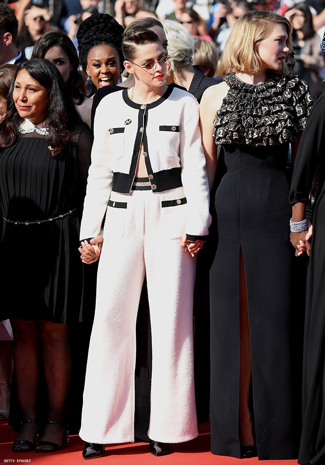 6. Kristen Stewart - at Cannes Screening of Girls Of The Sun (Les Filles Du Soleil) May 12