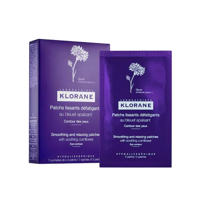 Klorane Smoothing & Relaxing Patches (7 sets for $24, Sephora)