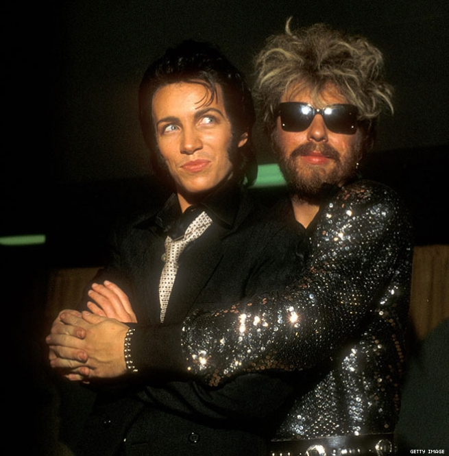3. Annie Lennox Comes to the Grammys in Drag (1984)