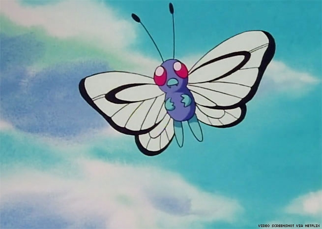 Butterfree Pokémon Queer