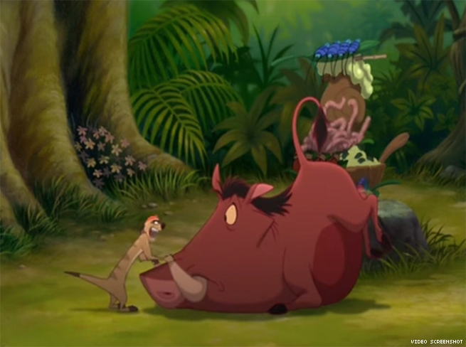 Timon and Pumbaa, 'The Lion King'