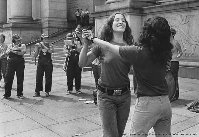 1973 - Dancing at the Museum of Natural History