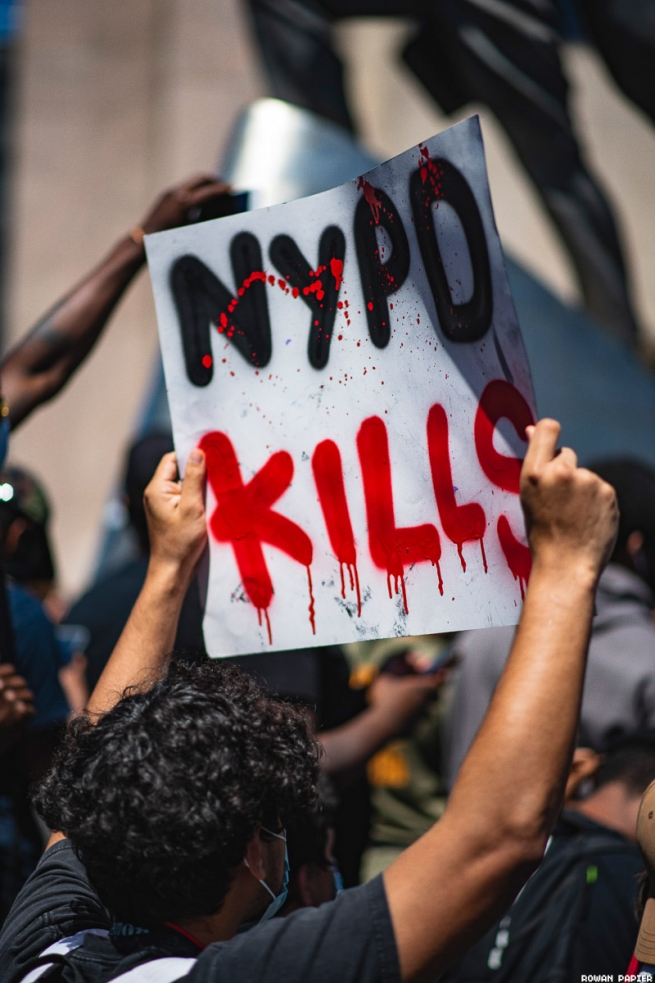 Black Lives Matter Demonstrations Photographed by Rowan Papier