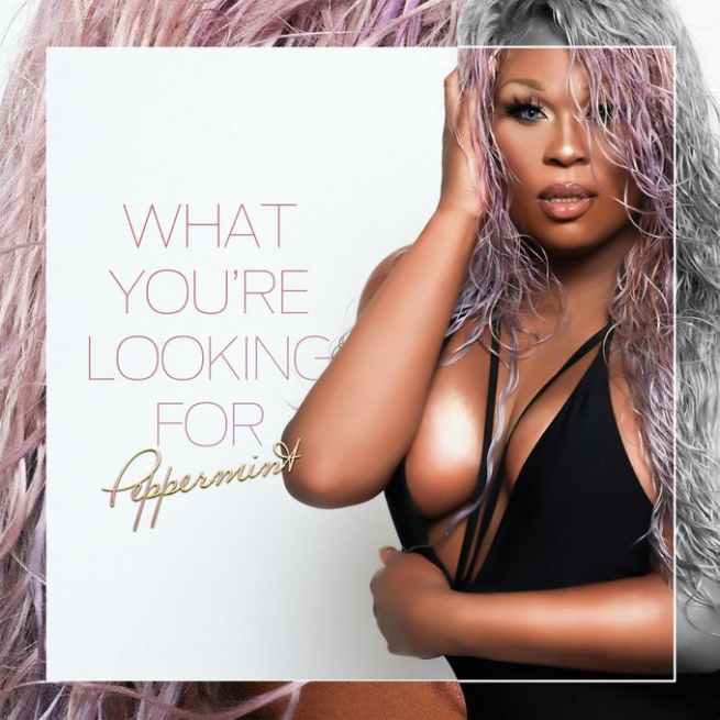 Peppermint in a promo for her new single.