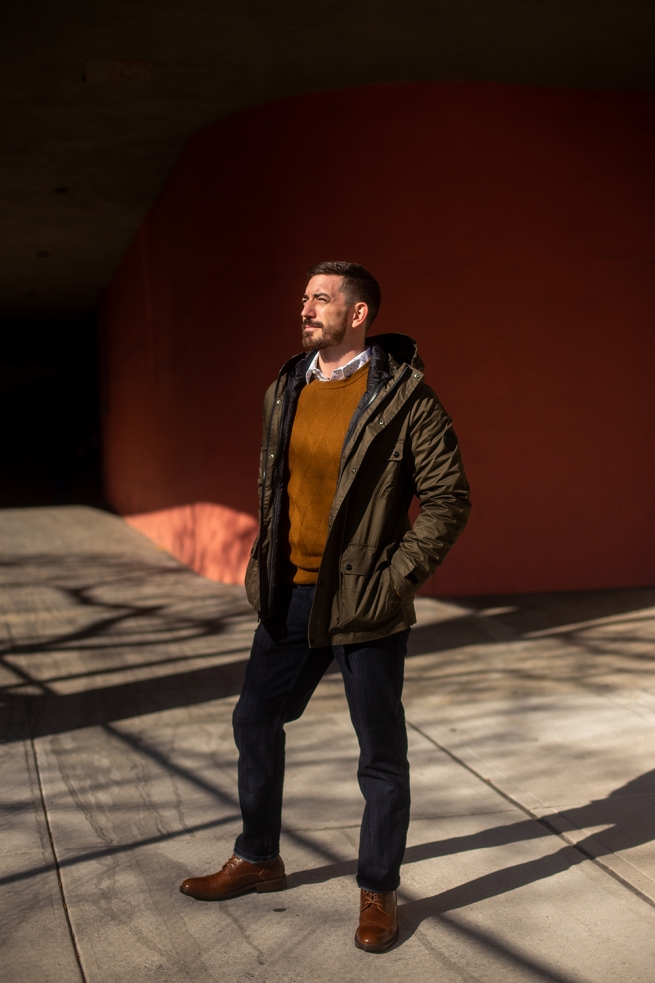 Out and Perry Ellis Life Ready (Look 2)