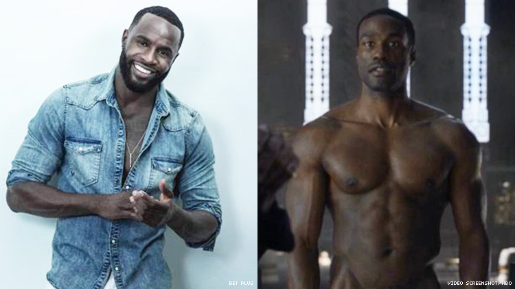 A diptych of two Black men.