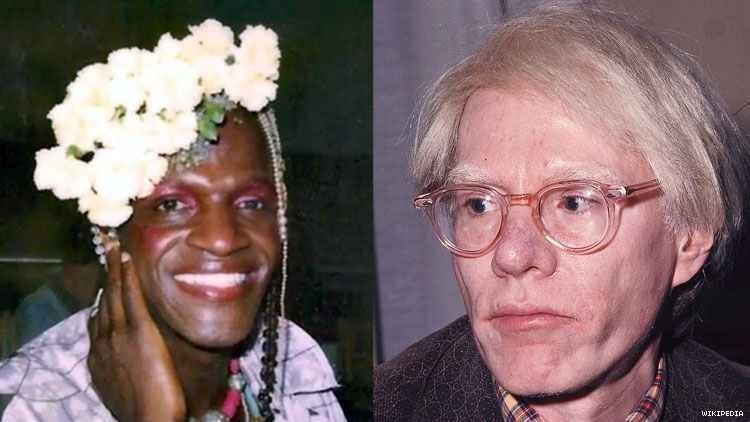 Andy Warhol, Marsha P. Johnson