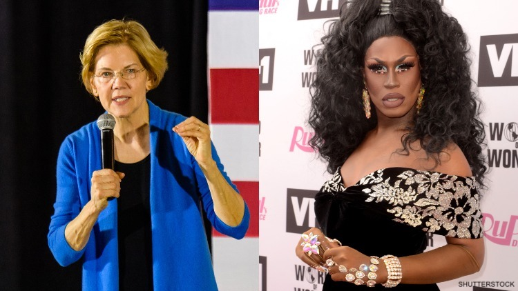 Shea Coulée Comes Out For Warren