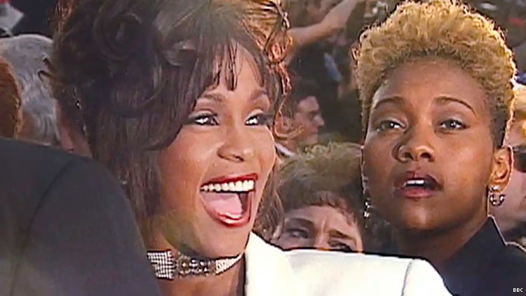 Whitney Houston and her close friend Robyn Crawford