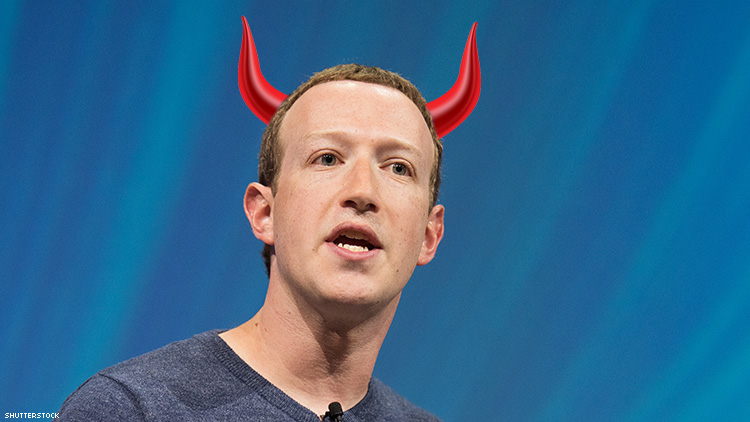 Facebook Made a Ton of Money Promoting Anti-LGBTQ+ Hate
